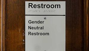 Gender neutral restroom