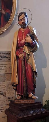 Antonius-Kapelle, Statue links