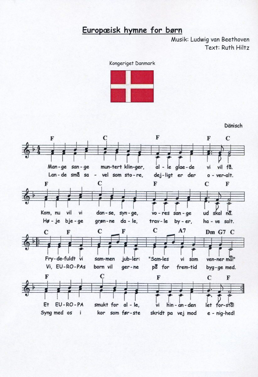 europäische hymne