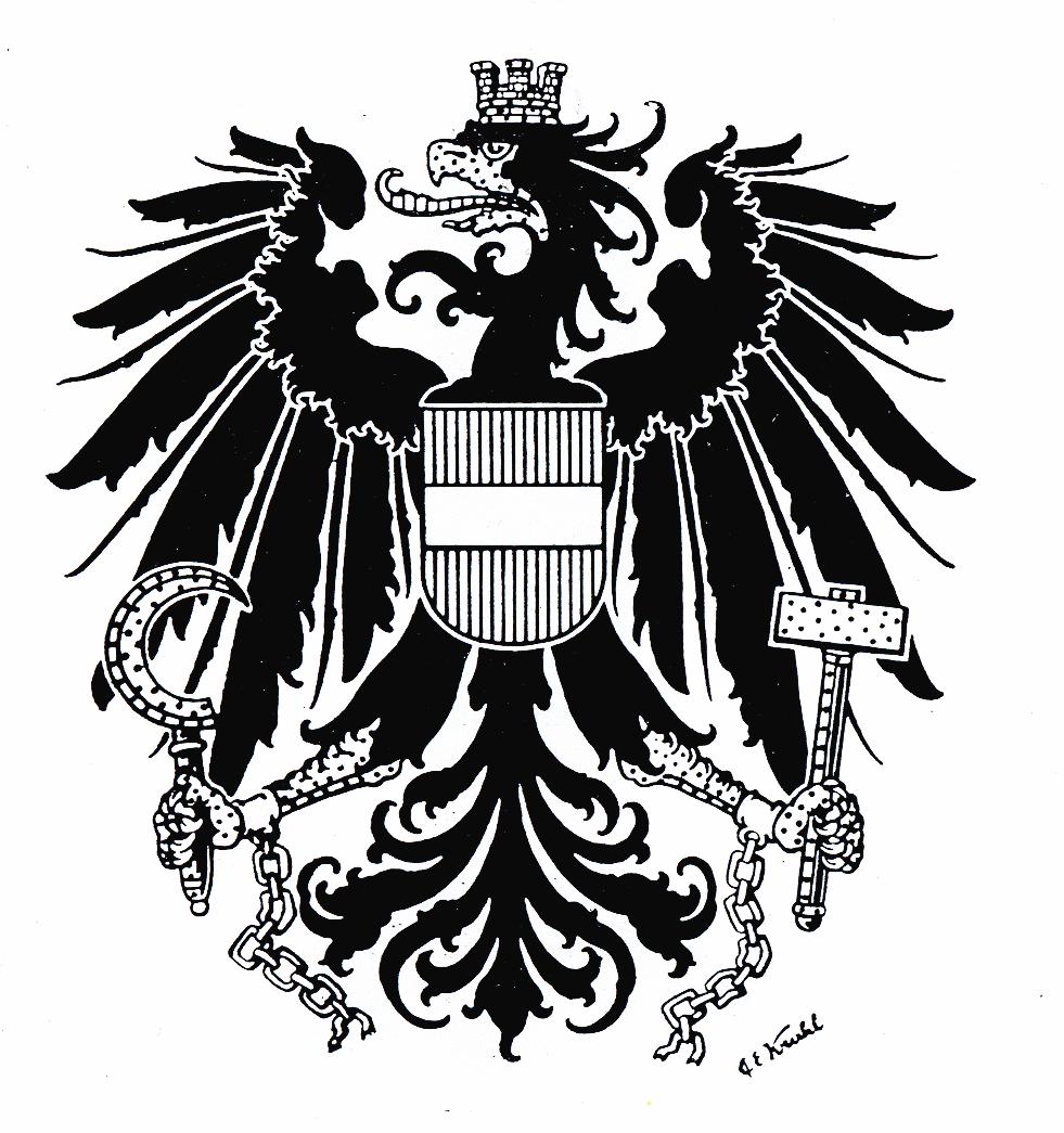 wappen der österreichischen bundesländer zum ausmalen