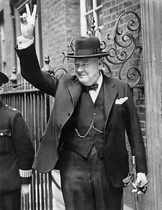 Winston Churchill, Foto: British Government, Aus: Wikicommons unter CC