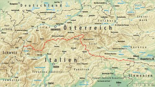 karte kärnten italien Grenze zwischen Italien und Österreich   AustriaWiki im Austria Forum
