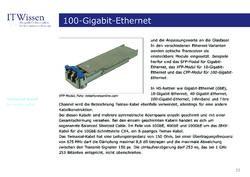 Bild der Seite - 22 - in IT Wissen - 100-Gigabit-Ethernet