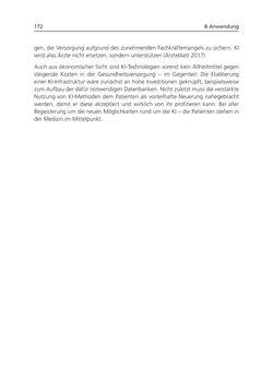 Bild der Seite - 172 - in Künstliche Intelligenz - Technologie   Anwendung   Gesellschaft