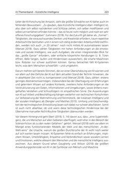 Bild der Seite - 223 - in Künstliche Intelligenz - Technologie | Anwendung | Gesellschaft