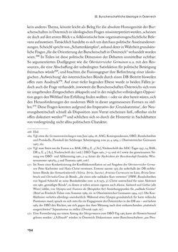 """Image of the Page - 194 - in """" IM NATIONALEN ABWEHRKAMPF DER GRENZLANDDEUTSCHEN"""" - Akademische Burschenschaften und Politik in Österreich nach 1945"""