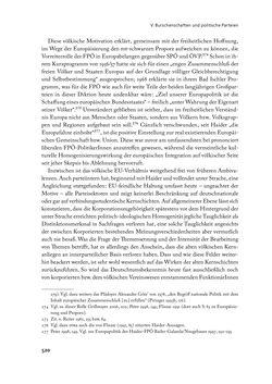 """Bild der Seite - 520 - in """" IM NATIONALEN ABWEHRKAMPF DER GRENZLANDDEUTSCHEN"""" - Akademische Burschenschaften und Politik in Österreich nach 1945"""