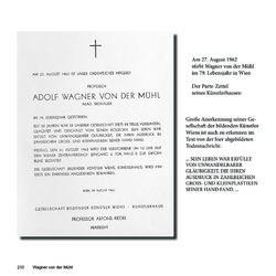 Bild der Seite - 210 - in Bildhauer Adolf Wagner von der Mühl - seine Herkunft und sein Werk