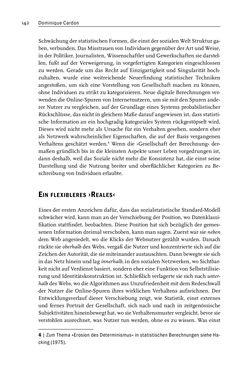 Bild der Seite - 142 - in Algorithmuskulturen - Über die rechnerische Konstruktion der Wirklichkeit