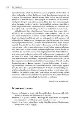 Bild der Seite - 230 - in Algorithmuskulturen - Über die rechnerische Konstruktion der Wirklichkeit