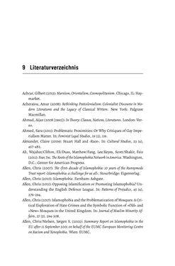 Bild der Seite - 323 - in Im Namen der Emanzipation - Antimuslimischer Rassismus in Österreich