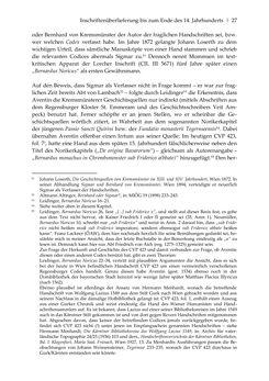 Bild der Seite - 27 - in Der sogenannte Antiquus Austriacus und weitere auctores antiquissimi - Zur ältesten Überlieferung römerzeitlicher Inschriften im österreichischen Raum