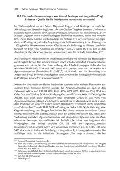 Bild der Seite - 302 - in Der sogenannte Antiquus Austriacus und weitere auctores antiquissimi - Zur ältesten Überlieferung römerzeitlicher Inschriften im österreichischen Raum
