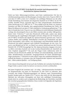 Bild der Seite - 311 - in Der sogenannte Antiquus Austriacus und weitere auctores antiquissimi - Zur ältesten Überlieferung römerzeitlicher Inschriften im österreichischen Raum