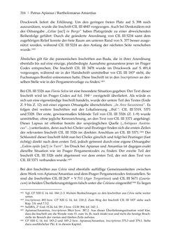 Bild der Seite - 316 - in Der sogenannte Antiquus Austriacus und weitere auctores antiquissimi - Zur ältesten Überlieferung römerzeitlicher Inschriften im österreichischen Raum