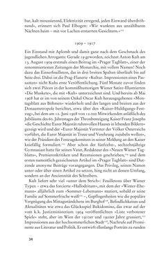 Bild der Seite - 34 - in Anton Kuh - Biographie