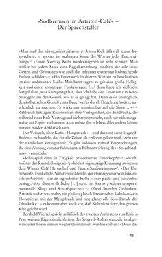 Bild der Seite - 43 - in Anton Kuh - Biographie