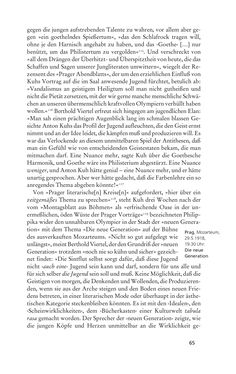 Image of the Page - 65 - in Anton Kuh - Biographie