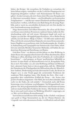 Image of the Page - 86 - in Anton Kuh - Biographie