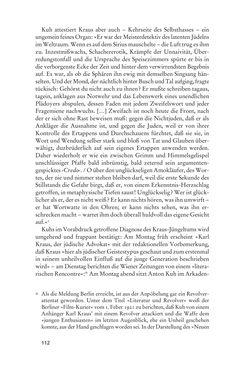 Bild der Seite - 112 - in Anton Kuh - Biographie
