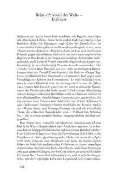 Bild der Seite - 122 - in Anton Kuh - Biographie