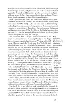 Image of the Page - 127 - in Anton Kuh - Biographie
