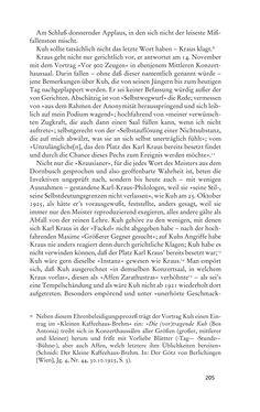 Bild der Seite - 205 - in Anton Kuh - Biographie