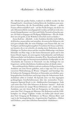 Bild der Seite - 334 - in Anton Kuh - Biographie