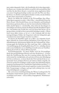 Bild der Seite - 357 - in Anton Kuh - Biographie