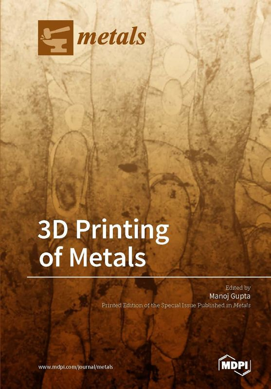 Bucheinband von '3D Printing of Metals'