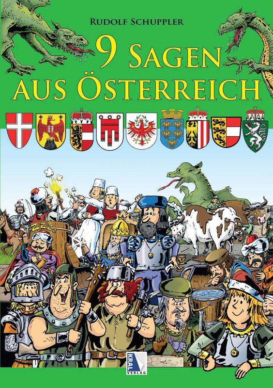 Bucheinband von '9 Sagen aus Österreich'