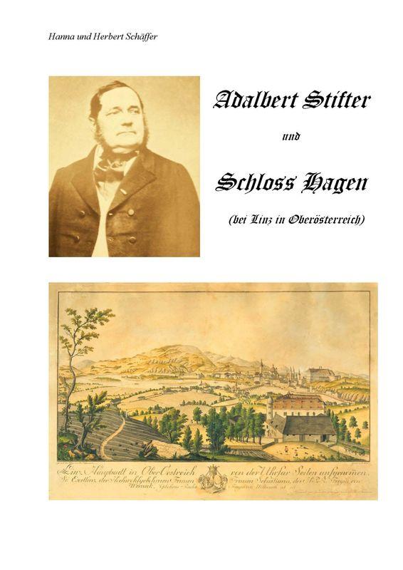 Bucheinband von 'Adalbert Stifter und Schloss Hagen'