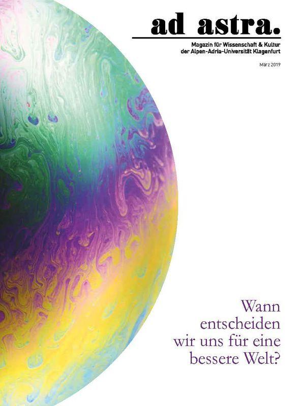 Bucheinband von 'ad astra. - Magazin für Wissenschaft & Kultur der Alpen-Adria-Universität Klagenfurt, Band 8'