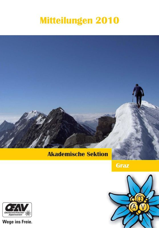 Cover of the book 'Mitteilungen 2010'