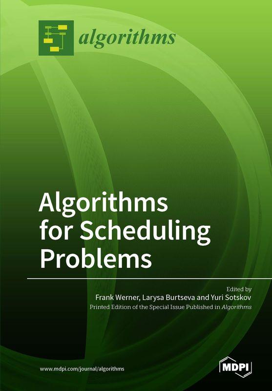 Bucheinband von 'Algorithms for Scheduling Problems'