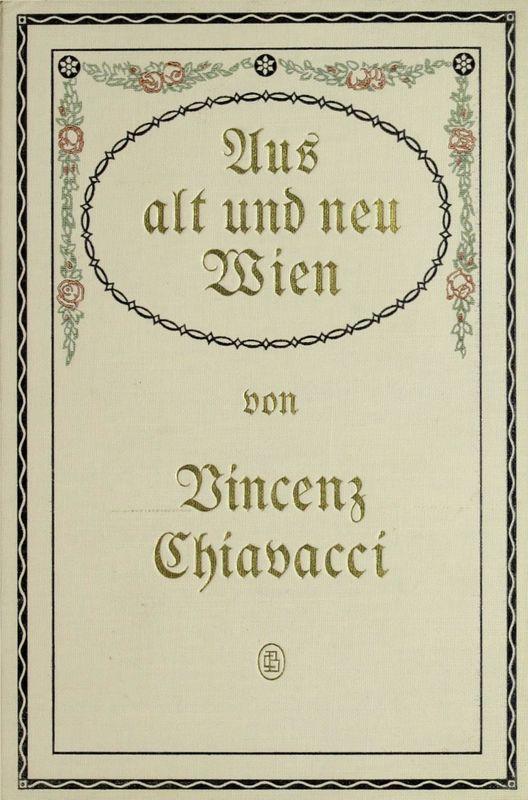 Bucheinband von 'Aus alt und neu Wien - Skizzen aus dem Wiener Volksleben'