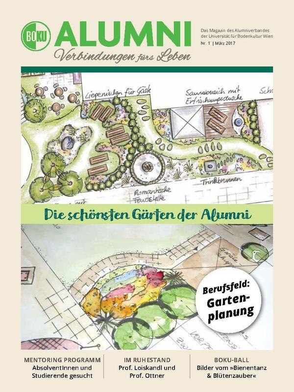 Cover of the book 'Alumni - Das Magazin des Alumniverbandes der Universität für Bodenkultur Wien, Volume 1/2017'