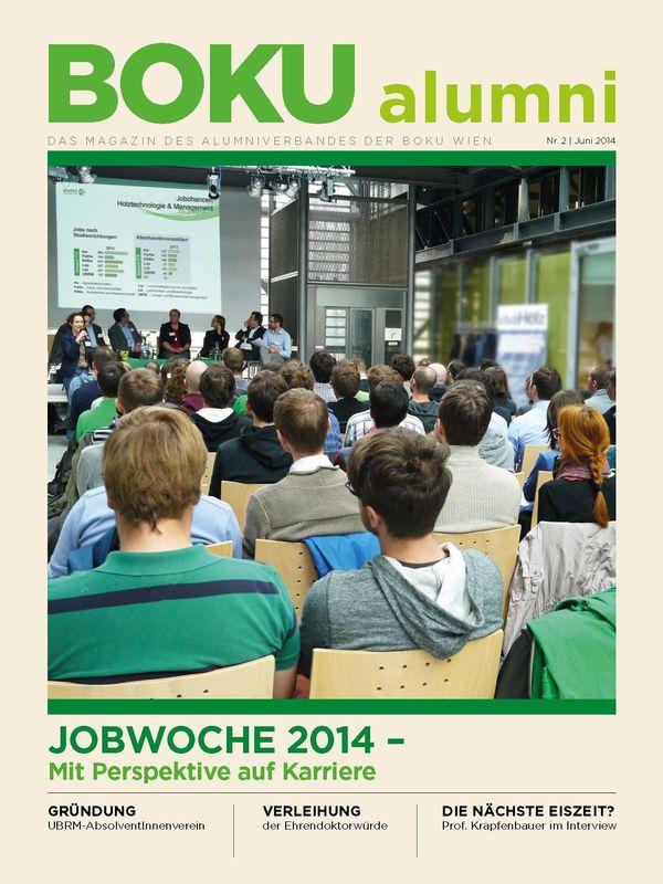 Cover of the book 'Alumni - Das Magazin des Alumniverbandes der Universität für Bodenkultur Wien, Volume 2/2014'
