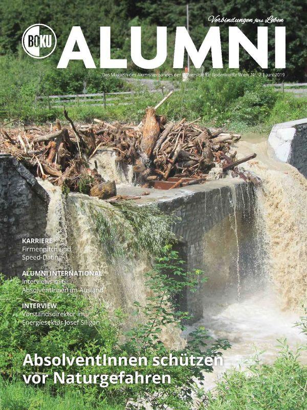 Bucheinband von 'Alumni - Das Magazin des Alumniverbandes der Universität für Bodenkultur Wien, Band 2/2019'