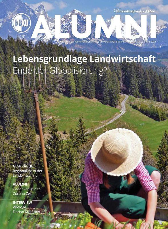 Bucheinband von 'Alumni - Das Magazin des Alumniverbandes der Universität für Bodenkultur Wien, Band 2/2020'