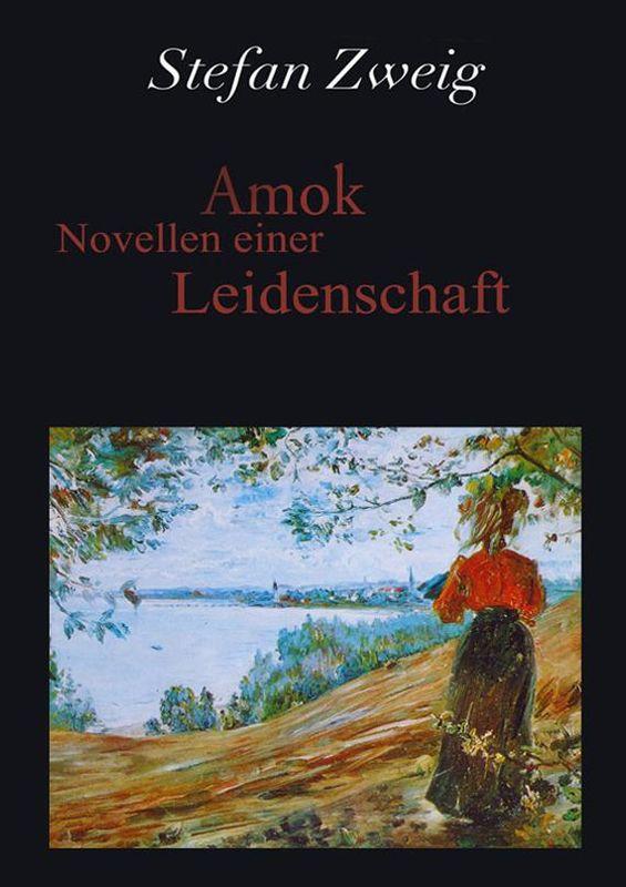 Bucheinband von 'Amok - Novellen einer Leidenschaft'
