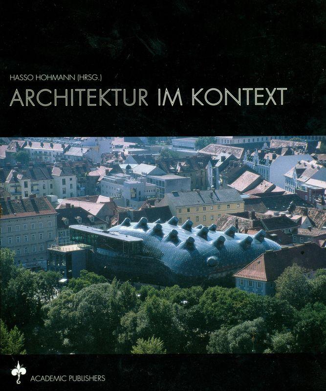 Bucheinband von 'Architektur Im Kontext'