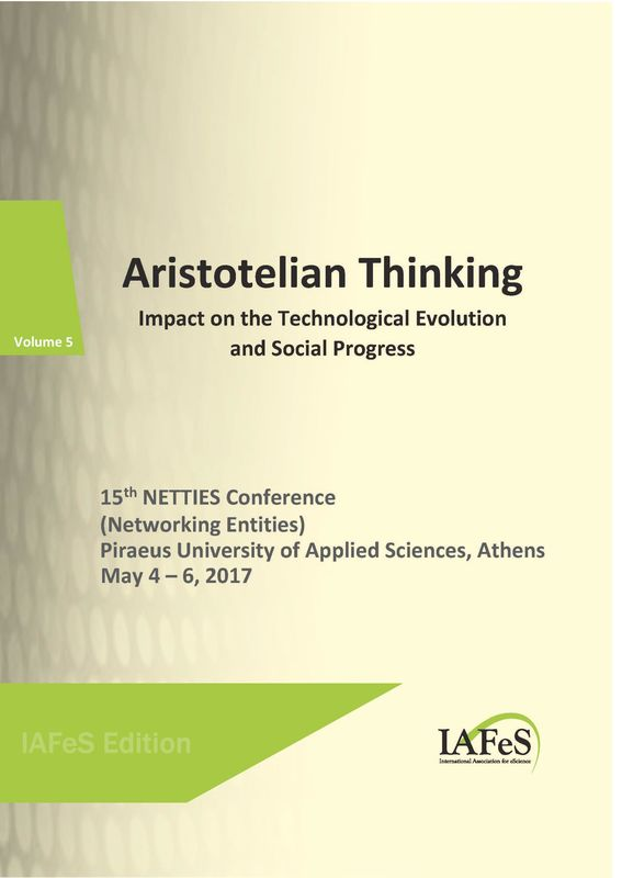 Bucheinband von 'Aristotelian Thinking - Impact on the Technological Evolution and Social Progress, Band 5'