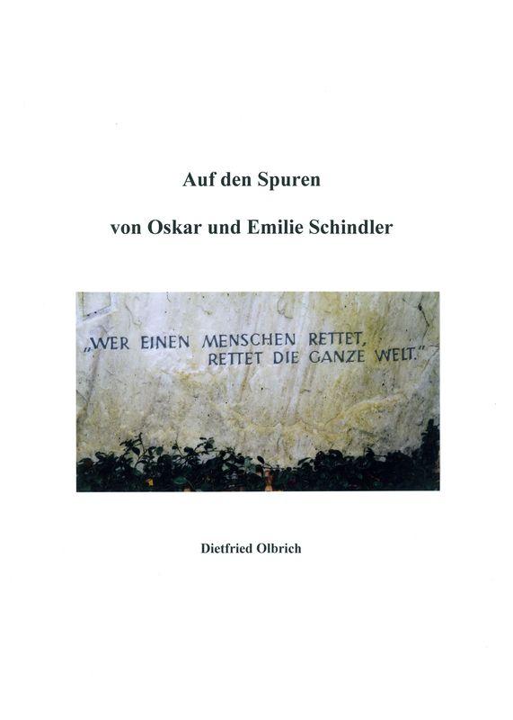 Bucheinband von Auf den Spuren von Oskar und Emilie Schindler