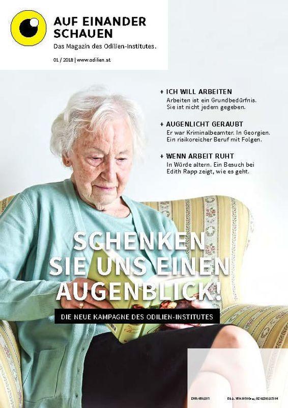 Bucheinband von Auf einander schauen, Band 1/2018