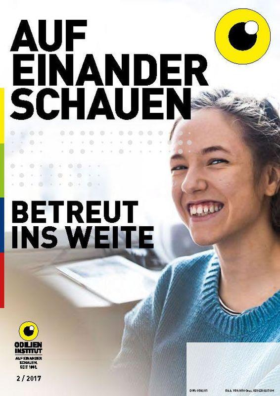 Bucheinband von 'Auf einander schauen, Band 2/2017'