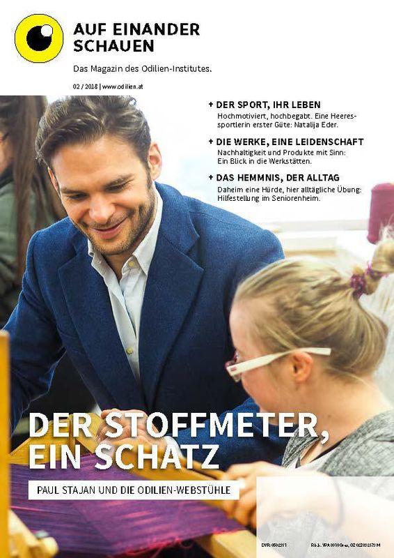 Bucheinband von 'Auf einander schauen, Band 2/2018'