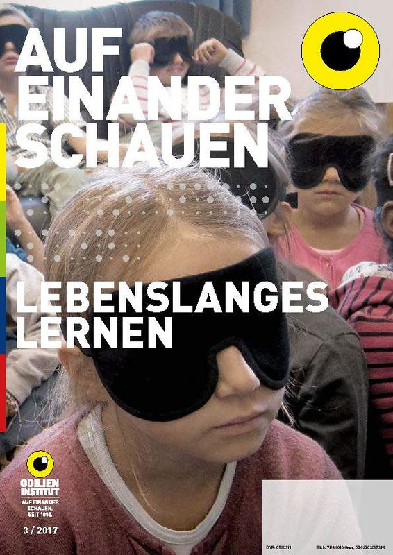 Cover of the book 'Auf einander schauen, Volume 3/2017'