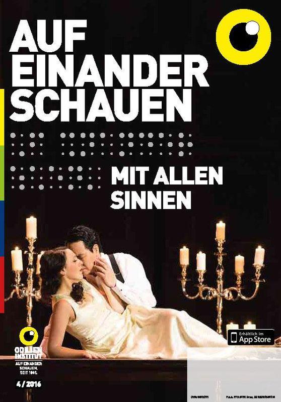 Cover of the book 'Auf einander schauen, Volume 4/2016'