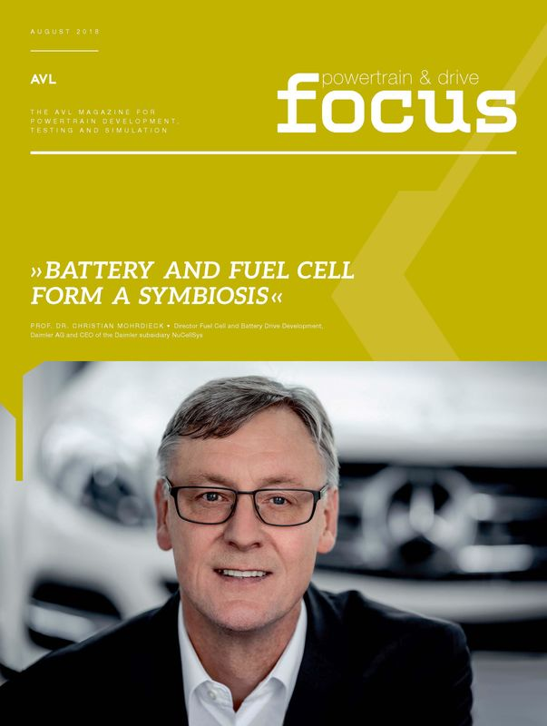 Cover of the book 'AVL Focus, Volume 01/2018'